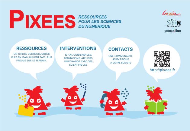 pixees.fr : ressources et accompagnement pour les sciences du numérique