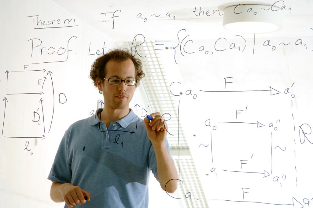 James Leiffer, au tableau transparent ...