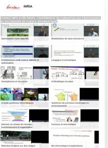 videos ISN sur CanalU